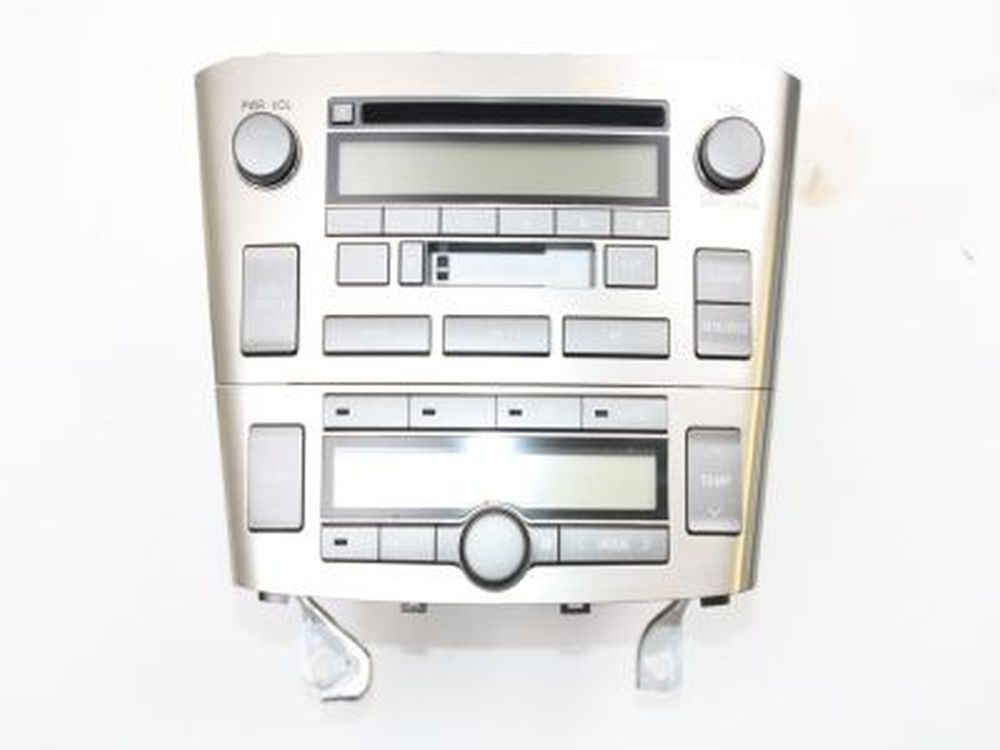 radio f r toyota avensis 2 kombi t25 05 2004 ebay. Black Bedroom Furniture Sets. Home Design Ideas